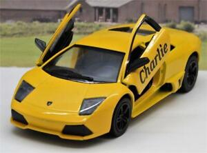 PERSONALISED NAME Gift Lamborghini Diecast Boys Dad Toy Car Present 10 colours