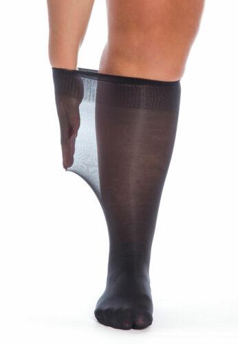 Albers Plus Size Knee High Pop Socks Sox XL Large Wide Calves Legs Ankles