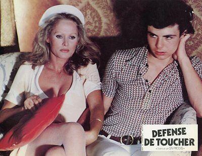 SEXY URSULA ANDRESS DEFENSE DE TOUCHER   1975 VINTAGE LOBBY CARD ORIGINAL #2