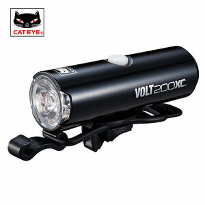 CATEYE-VOLT200XC-USB-Rechargeable-Front-Cycling-Bicycle-Handlebar-Head-Light