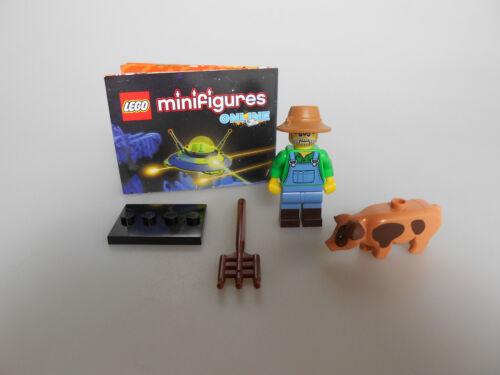 Lego ® minifiguras serie 15 Bauer nº 1 con bpz y placa nuevo