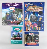 4 Thomas The Tank Engine And Friends Books With 1 Activity Book