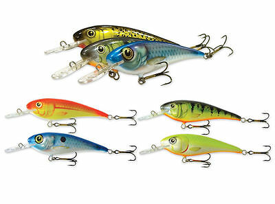 COULEURS! pike sinking Goldy Troter 7cm GN01- perch leurres zander