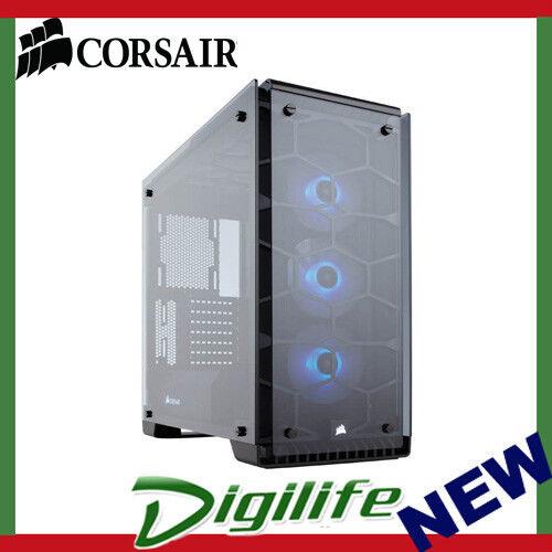 Corsair Crystal 570X RGB Mirror MidTower Black Tempered Glass Case CC-9011126-WW