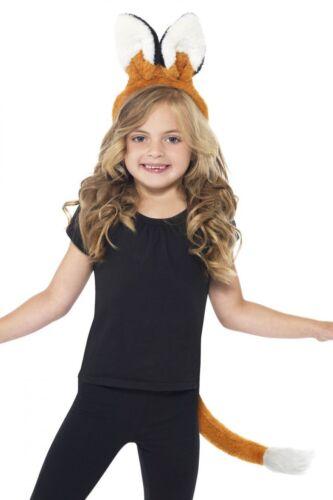 KIT di volpe per bambini e fascia /& Coda Animale Costume Bambino Smiffys