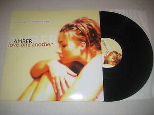 Amber - Love one another 12'' Vinyl Maxi - Merseburg, Deutschland - Amber - Love one another 12'' Vinyl Maxi - Merseburg, Deutschland