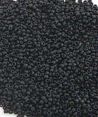 Rocailles Perlen 3mm Glas Weiß Opak 450g Schmuck Basteln Seed Beads A100