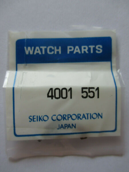 Aggressiv New Genuine Seiko Circuit Block Elektronikblock 4001551 For Cal. 3es
