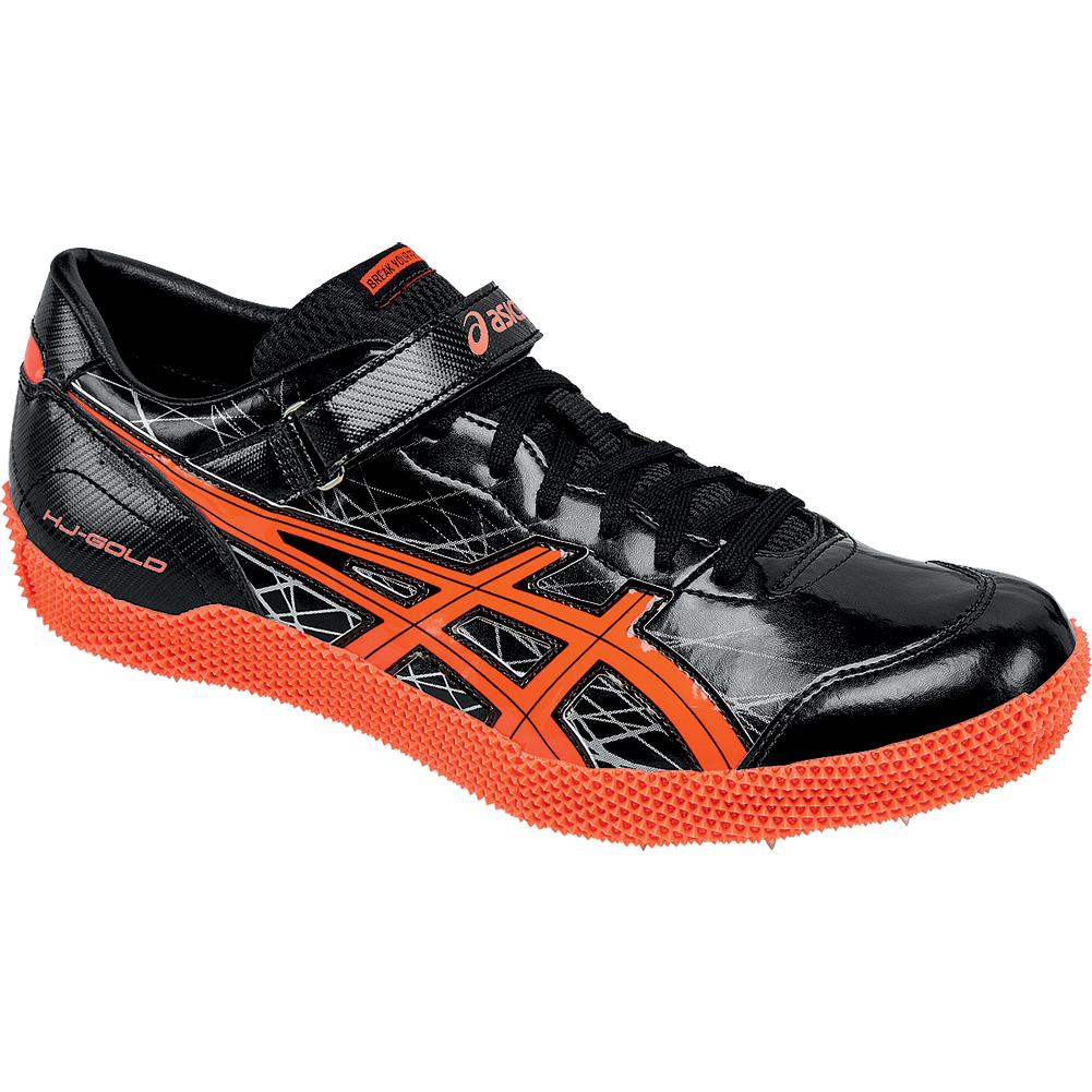 Asics HIGH JUMP PRO (L) Men's G608Y.9006 nero nero nero Flash Coral Track & Field scarpe 7dd363