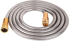 Stainless Steel Metal Garden Hose 304 Stainless Steel Water Hose With Solid Meta