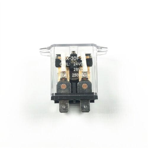 JQX-30F 2Z 30A DPDT General Purpose Power Relay 8 Pin DC12 24V AC110 220V