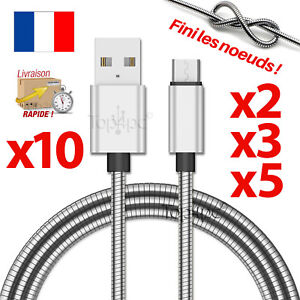CHARGEUR-POUR-SAMSUNG-GALAXY-S6-S7-EDGE-CABLE-MICRO-USB-DATA-V8-ANDROID-METAL