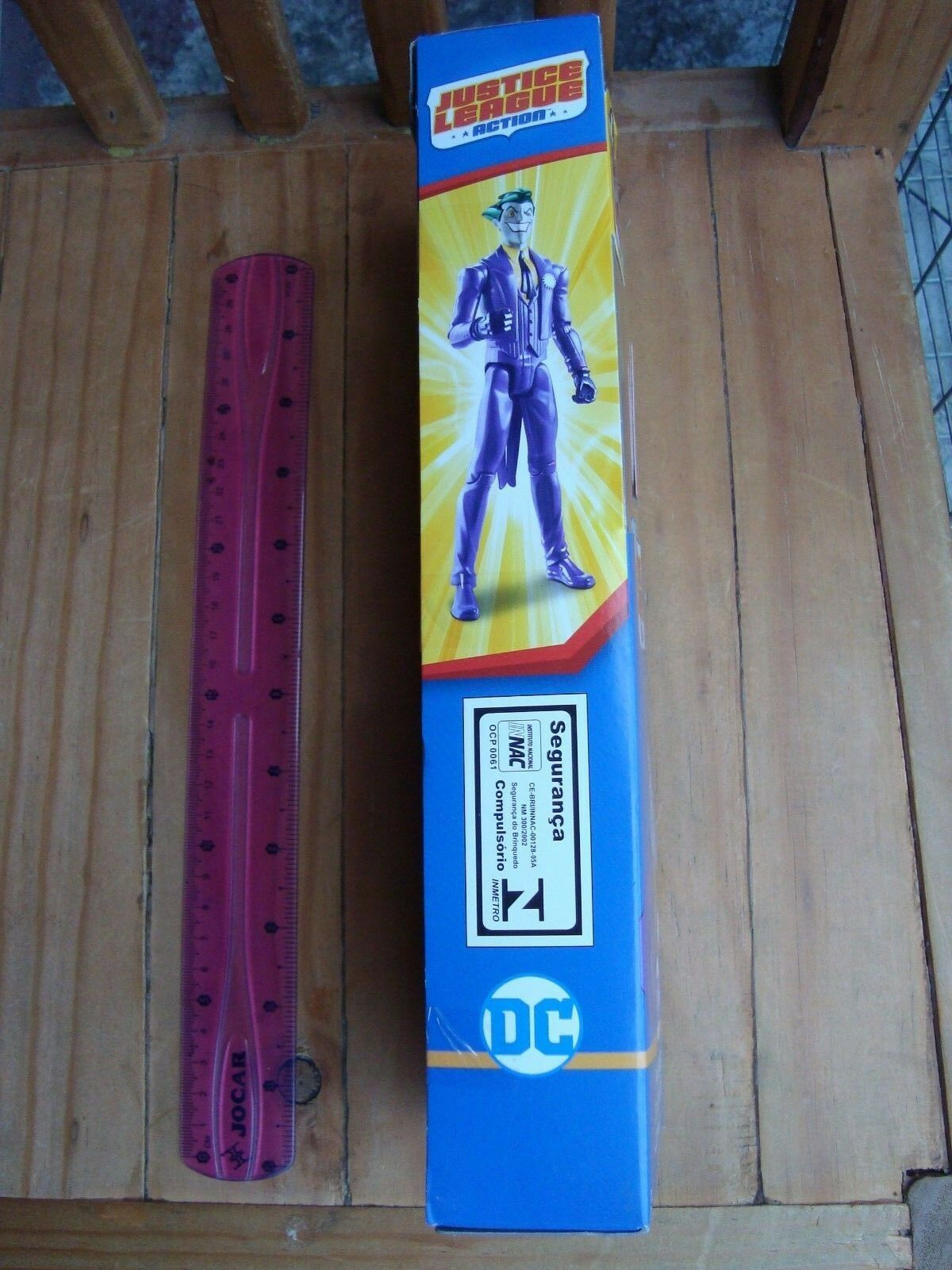 THE JOKER 12  INCHES ACTION FIGURE BRAND NEW NEW NEW POSABLE ARTICULADO DC COMICS MEXICO 267c2a