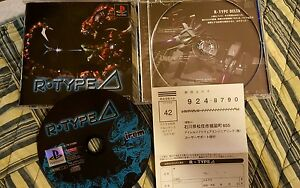 Sony-PlayStation-R-Type-Delta-ps1-Japan-Rare-Fun-shooter-and-a-classic-shmup