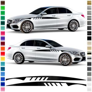 decoración-sticker comp con mercedes c-class Páginas de coche-rayas pegatinas-set