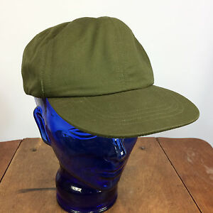 Vintage US Military Army Marines USMC Vietnam War Hat Cap OG 106, 7 1/8