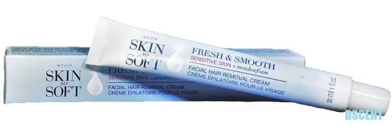 Skin So Soft Fresh & Smooth Sensitive Skin Facial Hair Removal Cream 1 fl oz
