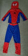 Boys Kids Children Spiderman Cosplay Costume Clothes Sets 5-6yrs UK seller