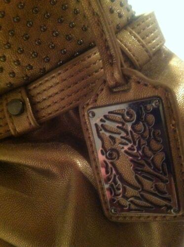 cuero Nwot Smith bolso B oro bandolera sintético de de tA4x8pqwz