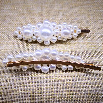 77 Styles Diamante Crystal Pearl Bead Flower Barrette Hair Clip Clamp Hairpin