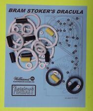 1993 Williams Dracula pinball rubber ring kit