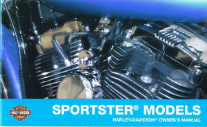 2008 harley sportster 883 1200 xl883 xl1200 owner s owners owner rh ebay com User Manual PDF Car Owners Manual