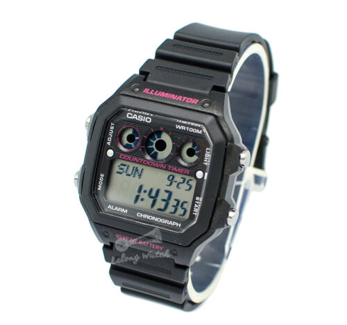 1 of 1 - -Casio AE1300WH-1A2 Digital Watch Brand New & 100% Authentic
