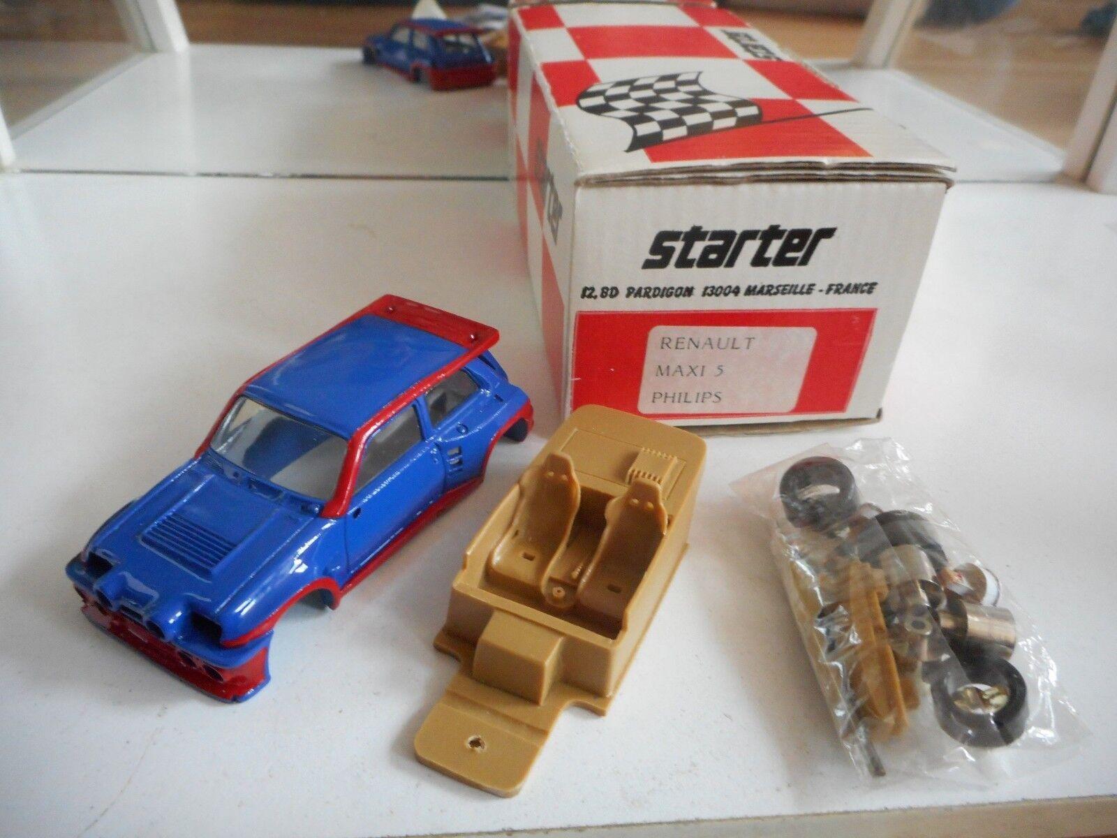 Resin Modelkit Starter Starter Starter Renault Maxi 5 Philips on 1 43 in Box 4a7a36