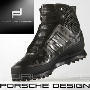 1796b48e34f Adidas Porsche Design Shoes Mens Winter Snow Bounce Tech Black Boot ...