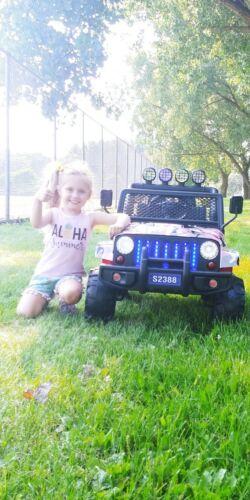 Uenjoy 5020800112/ 502080012 2V Battery Powered Ride On Car for Kids - Black
