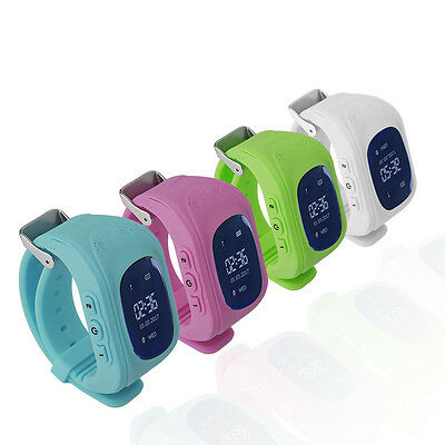 Q50 Children Accurate Tracker Emergency Anti-Lost Smart Watch For Android GN