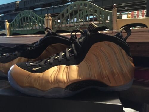 Foamposite 886548046805 Nuevo Gold con o Air 700 One 11 estuche Tama metallic 314996 Nike xBwP5S5