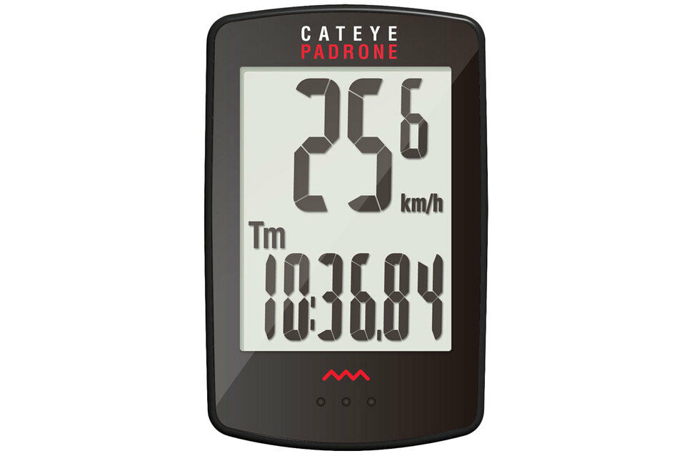 CATEYE Padrone CC-PA100W Wireless Speed Sensor - Bicycle Computer LARGE Display