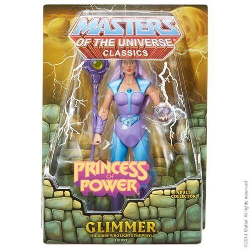 MOTUC Glimmer Masters of the Universe Classics figurine Pop New 2014