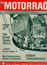 Motorrad 8 67 Montesa Kawasaki Yamaha YDS 5E Sachs 100 1967 Spanien Zweitakter