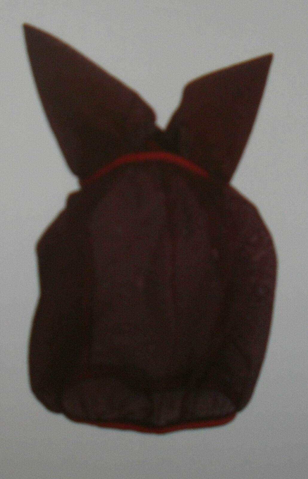 Fliegenmaske, Fliegenschutzhaube mit Ohren, Cama-Design, black,S, Pony