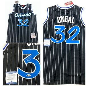 SHAQUILLE-O-NEAL-signed-JERSEY-Orlando-Magic-SHAQ-Beckett-Authentication