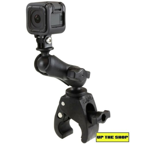 Ram Small Tough claw with GoPro Hero Action Cam mount motorcycle MTB Yacht bike