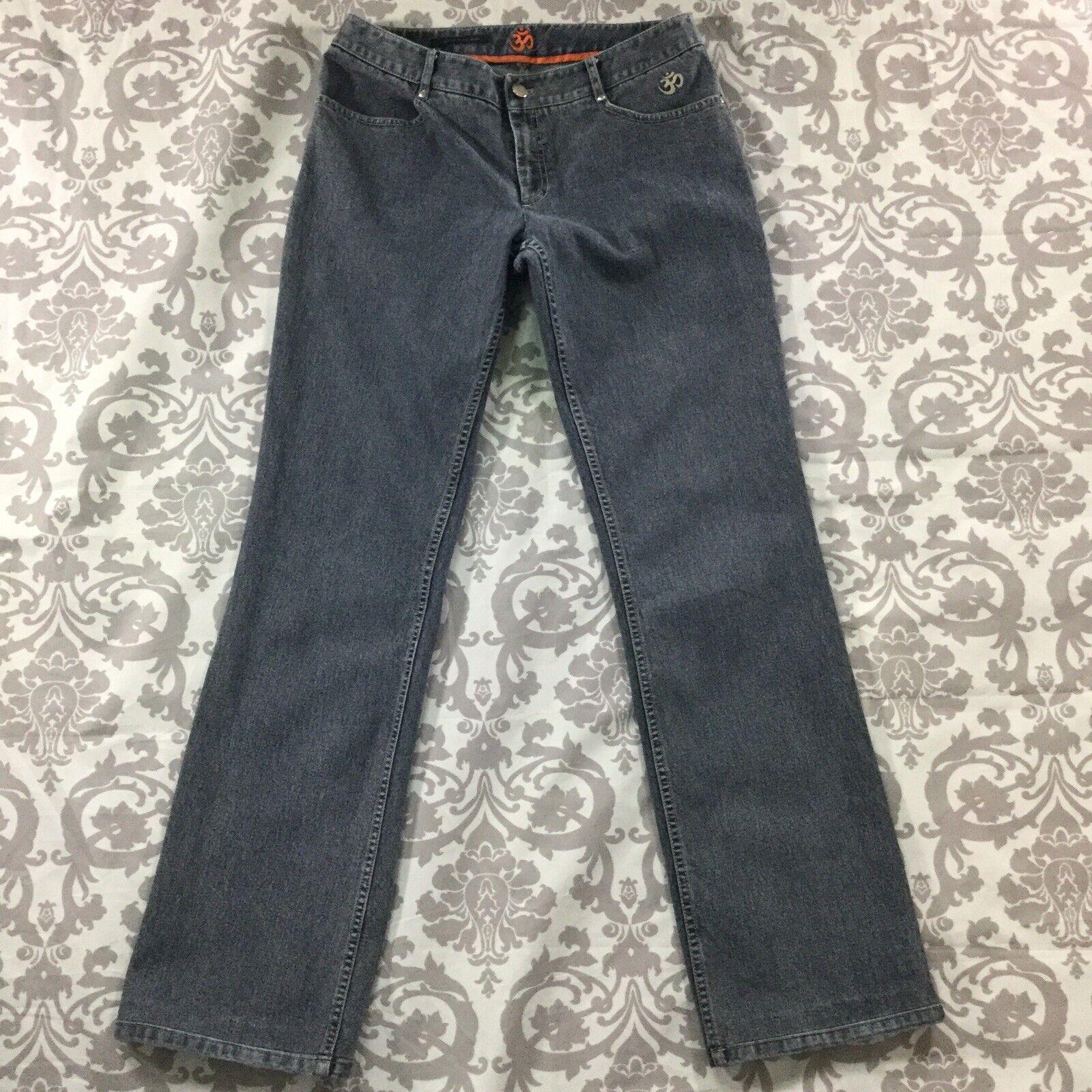 Elie Tahari Womens Jeans size 8 x 2  inseam Medium Wash Cotton Stretch Straight