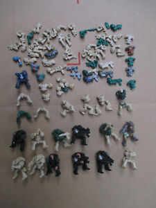 D11C14 IMPERIAL SPACE MARINE x20 WARHAMMER 40000 W40K (1987) USED PAINTED