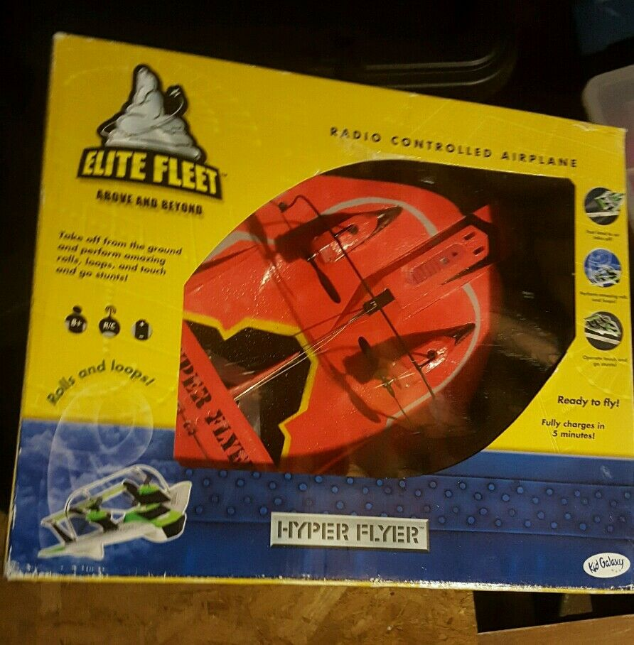 Elite Fleet Hyper Flyer  Radio Controlled Airplane  centro commerciale online integrato professionale