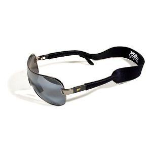 e779fda5a1d2 Image is loading Croakies-XL-Eyewear-Retainer-Black-Sunglasses-Strap-Fits-