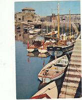 Unused Arthur Dixon Postcard Cornwall, Boats in Mevagissey Harbour, 330