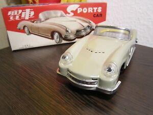 Selbstbewusst Befangen Gehemmt Unsicher Verlegen Ein Altes Blechspielzeug Blechauto Coupe 60-70er Jahre Made In China Ovp