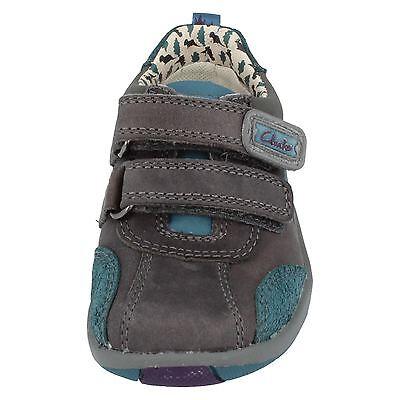 Ausverkauf Clarks Erste Schuhe 'Saurus Time' Jungen Wandern Lederschuhe breit g