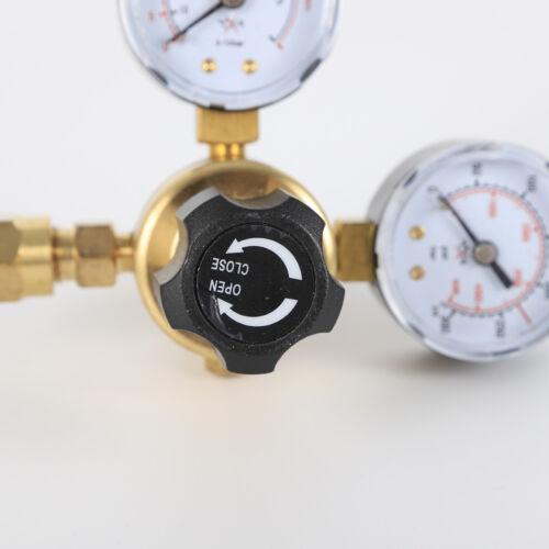 Argon CO2 MIG Welding Regulator Dual Gauge for CGA580 Miller Mig Tig 4000PSI