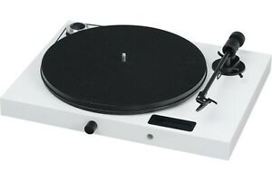 Pro -Ject Juke Box E Turntable Built in Amplifier Bluetooth (Gloss White) NEW