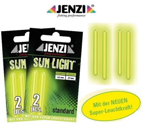 JENZI Standard Knicklicht 4,5mm x 37mm 2x2 St.= 4 Stück Bissanzeiger