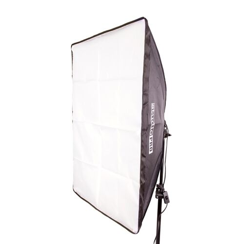 StudioPRO Photo Video Single Continuous Lighting Socket Rectangle 20x28 Softbox