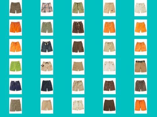 NWT Gymboree Boys Bottoms Cargo Shorts Choice NEW Cotton